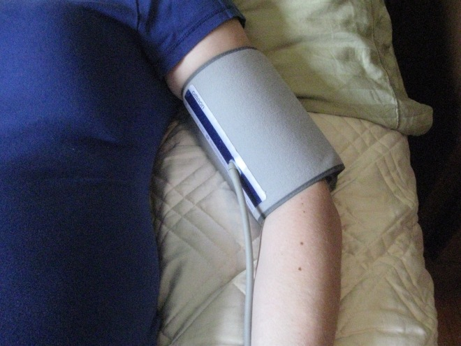 Keep your Blood Pressure Cuff On All Night