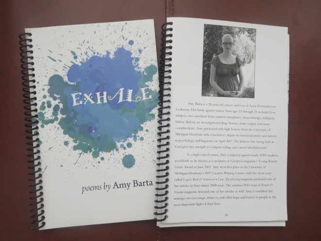 "Buy my book ""Exhale"" for a FABULOUS & inexpensive gift!"