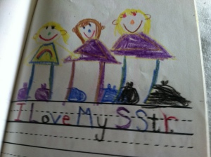 My kindergarten still-true sentiments