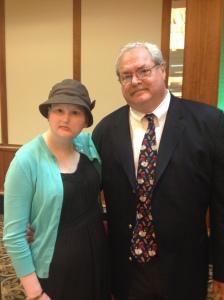 Professor Alan Fisk & me