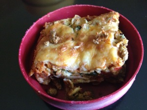 Marvelous Mexican lasagna