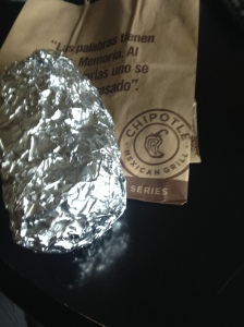 All is well in the end cuz this Foodie got Chipotle.