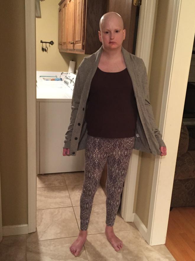 8-18-17 I look like a Bag Lady