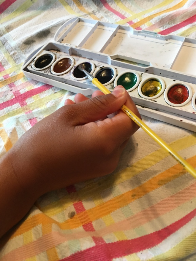 Lauren & I painted 7-20-18